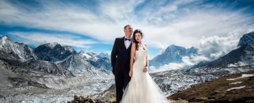 เมื่อบ่าวสาว ถ่ายภาพแต่งงานที่ Everest