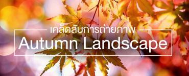 เคล็ดลับการถ่ายภาพ Autumn Landscape