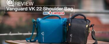 Review Vanguard VK 22 Shoulder Bag