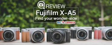 Review : FujiFilm X-A5