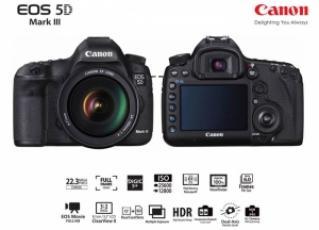 Canon EOS-5D MarkIII...New !!!