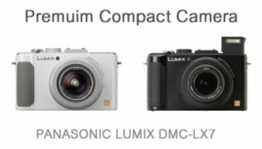 (New) Premuim Compact Camera PANASONIC LUMIX DMC-LX7