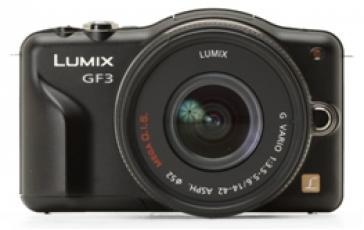 PANASONIC GF-3 กล้องน่ารักในสรีระโค้งมน