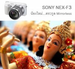 Review SONY NEX-F3 น้องใหม่...ตระกูล Mirrorless