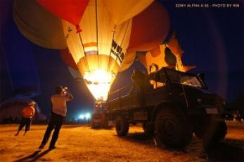 SONY ALPHA A55 : บินไปกับบอลลูน