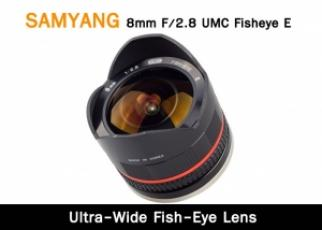 SAMYANG 8mm F/2.8 UMC Fisheye E
