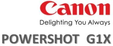 Canon Powershot G1X...New !!!