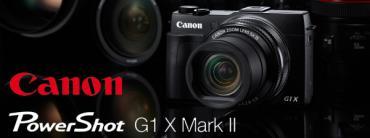 REVIEW : Canon Powershot G1X Mark II เซ็นเซอร์ใหญ่...ดีไซน์เล็ก...สดใหม่
