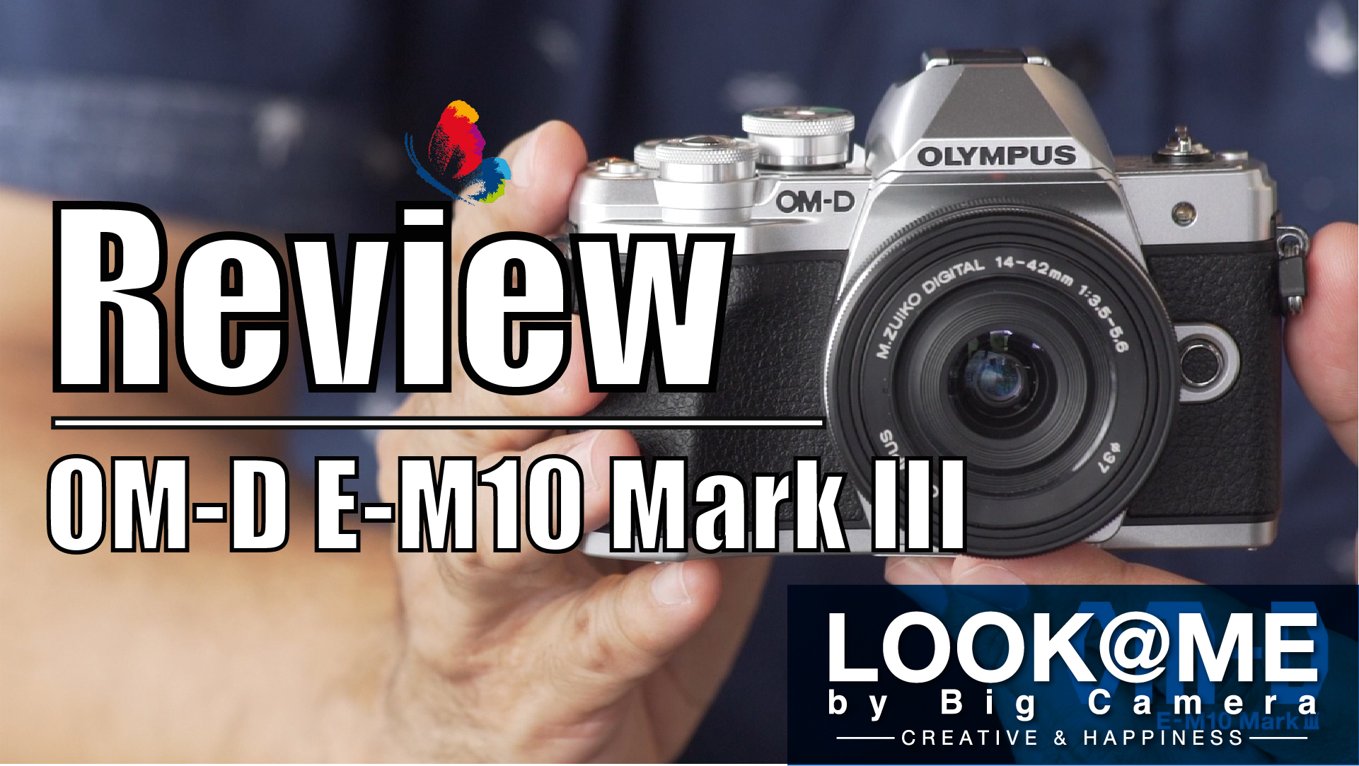 Review Olympus OM D E M10 Mark III