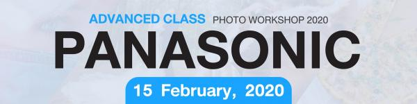 Panasonic Advanced Class Photo Workshops 2020