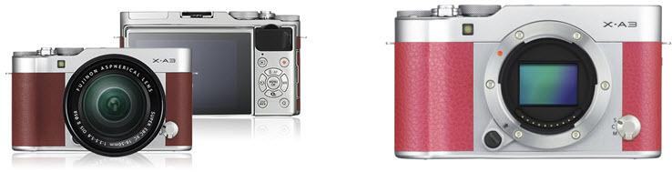 Fujifilm X A3 4 Caramel